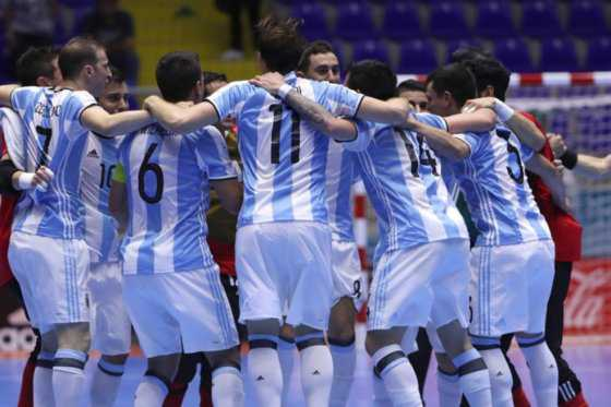 Argentina-Rusia: final inédita en Mundial de Futsal