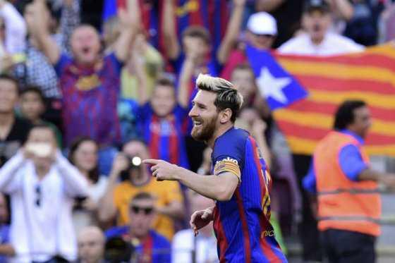 Lionel Messi volvió a jugar y marcó en la victoria del Barcelona
