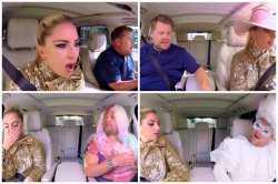 Lady Gaga promociona su nuevo disco cantando en el «Carpool Karaoke»