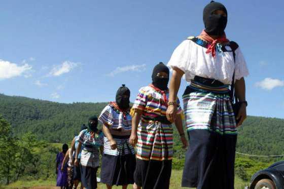 Guerrilla de México presentará mujer indígena como candidata a la presidencia