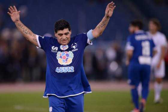 """Maradona: """"Estoy a favor de que Argentina juegue en la Bombonera"""""""