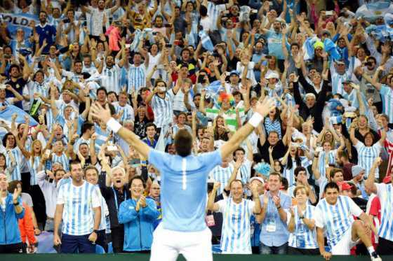 Argentina campeona por primera vez de la Copa Davis