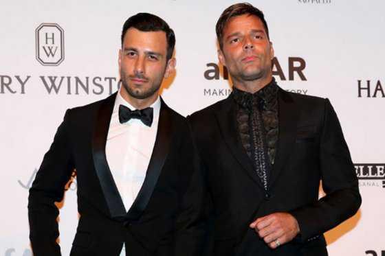 Ricky Martin le propone matrimonio a Jwan Yosef