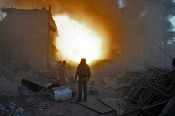 Iraquíes buscan refugio en otro lugar en guerra: Siria