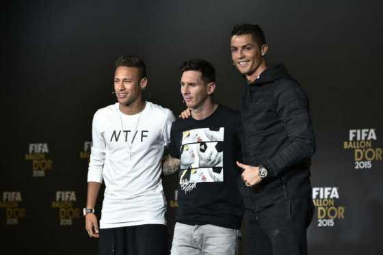 Messi y Cristiano lideran los 23 finalistas al mejor jugador del año de la Fifa