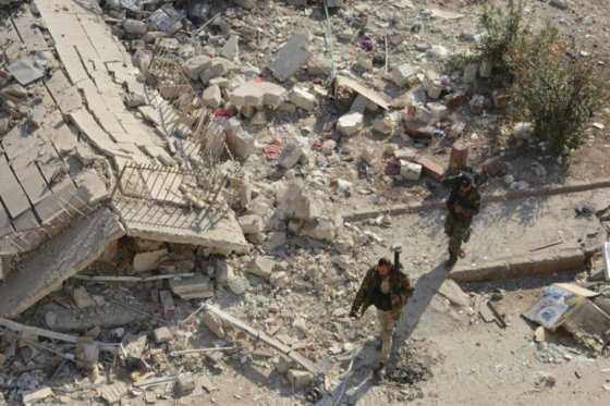 Aviones de guerra no identificados bombardearon dos hospitales al oeste de Alepo
