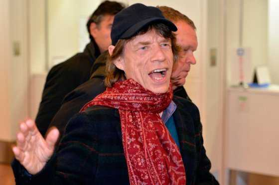 Nace el octavo hijo de Mick Jagger