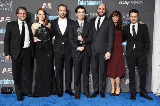 «La La Land» es la mejor película según los Critics' Choice Movie Awards