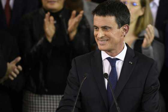 El primer ministro francés Manuel Valls se lanza a la carrera presidencial