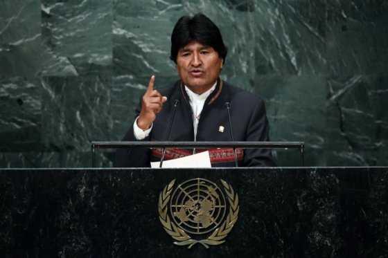 Evo Morales será candidato presidencial del partido oficialista en 2019