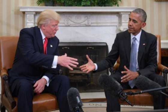 Trump acusa a Obama de entorpecer su transición a la Casa Blanca