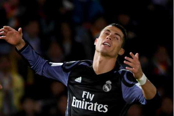 La clara opción de gol que desperdició Cristiano Ronaldo
