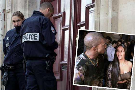 En libertad conductor y otras dos personas investigadas por robo a Kim Kardashian en París