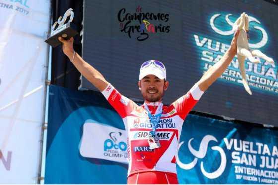 Colombiano Rodolfo Torres es tercero en la Vuelta a San Juan, Mauke Bollema, campeón