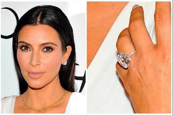 Ladrones fundieron anillo de compromiso de Kim Kardashian tras robarlo en París