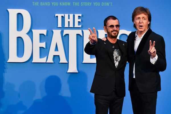 Paul McCartney y Ringo Starr volvieron juntos al estudio de grabación
