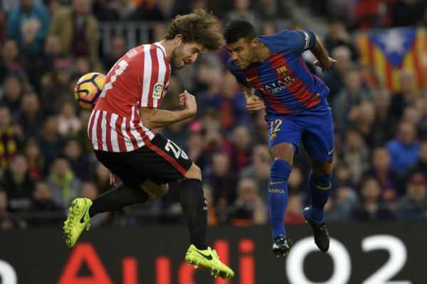 Por una fractura de nariz, Rafinha será baja con el Barcelona