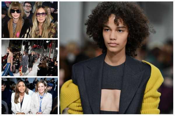 Nuevo diseñador de Calvin Klein debuta con una incluyente colección retro