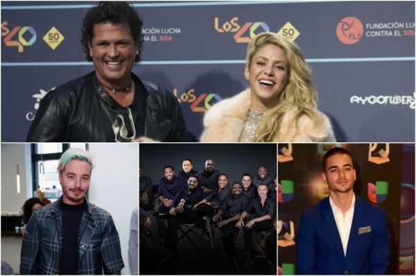 Shakira y Nicky Jam, los más nominados a los Billboard Latino 2017