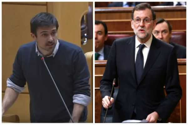 """No me ponga a Venezuela de ejemplo de nada"": Rajoy a senador español"