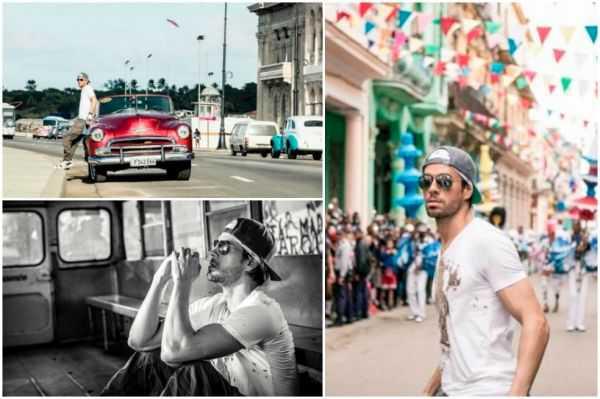 Enrique Iglesias estrena video grabado en Cuba