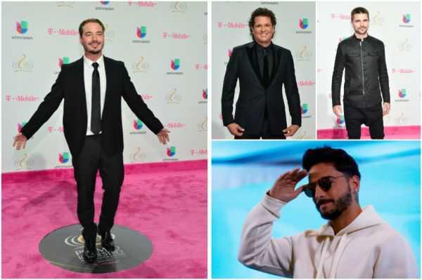 J Balvin, Shakira, Maluma y Vives triunfan en los Premios Lo Nuestro