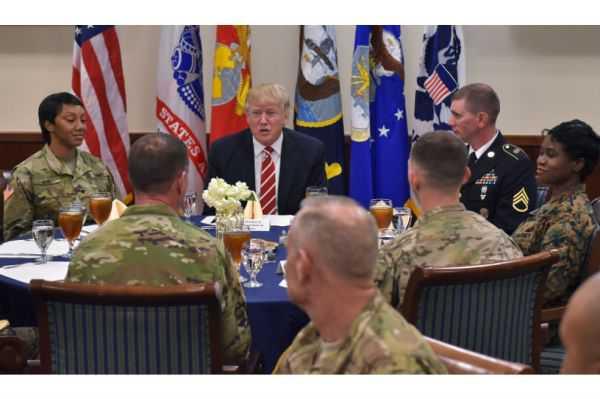 «Estados Unidos y sus aliados los van a derrotar»: Trump al terrorismo islámico radical