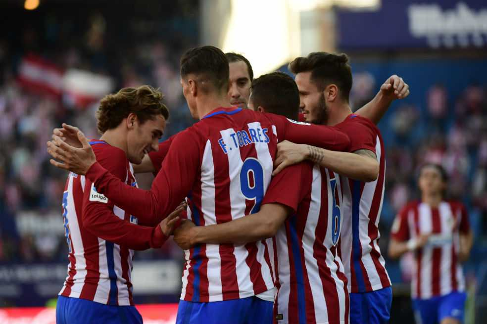 El Atlético de Madrid aplasta a un frágil Sevilla