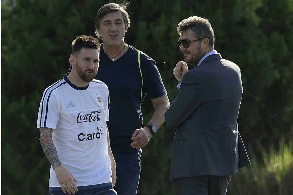 La AFA apelará la sanción de Messi