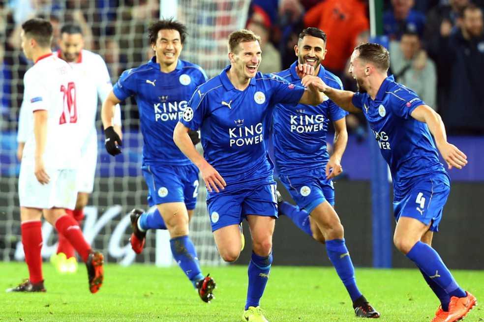 Histórica clasificación de Leicester a cuartos de la Champions