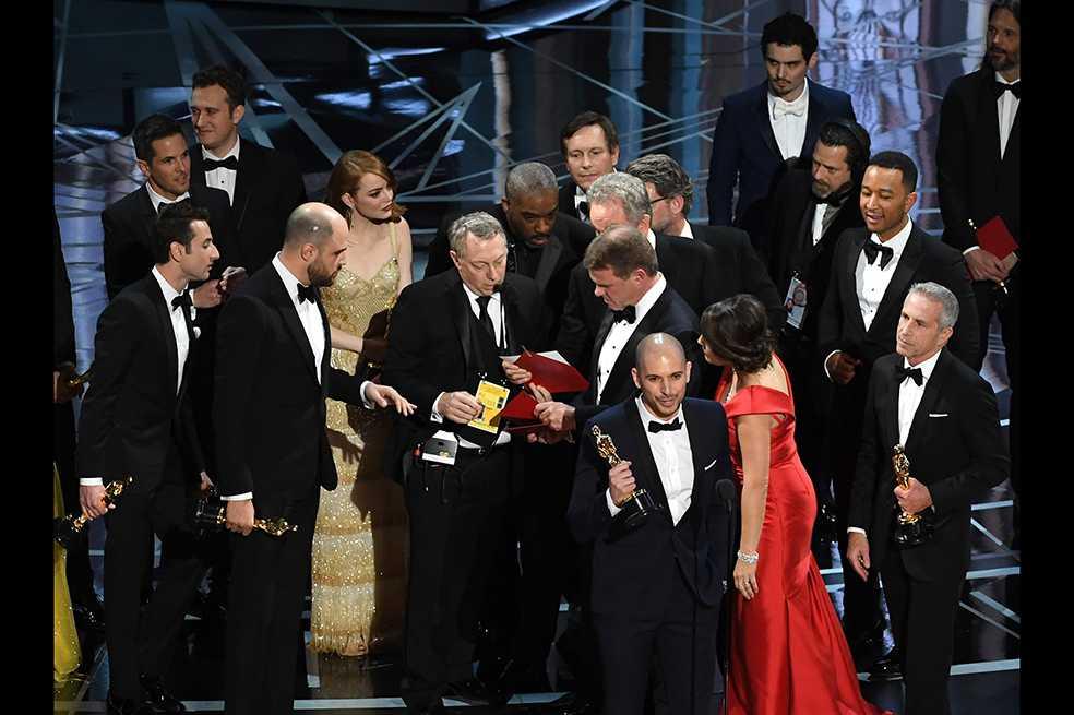 Prohibición de celulares en los Óscar tras error de este año