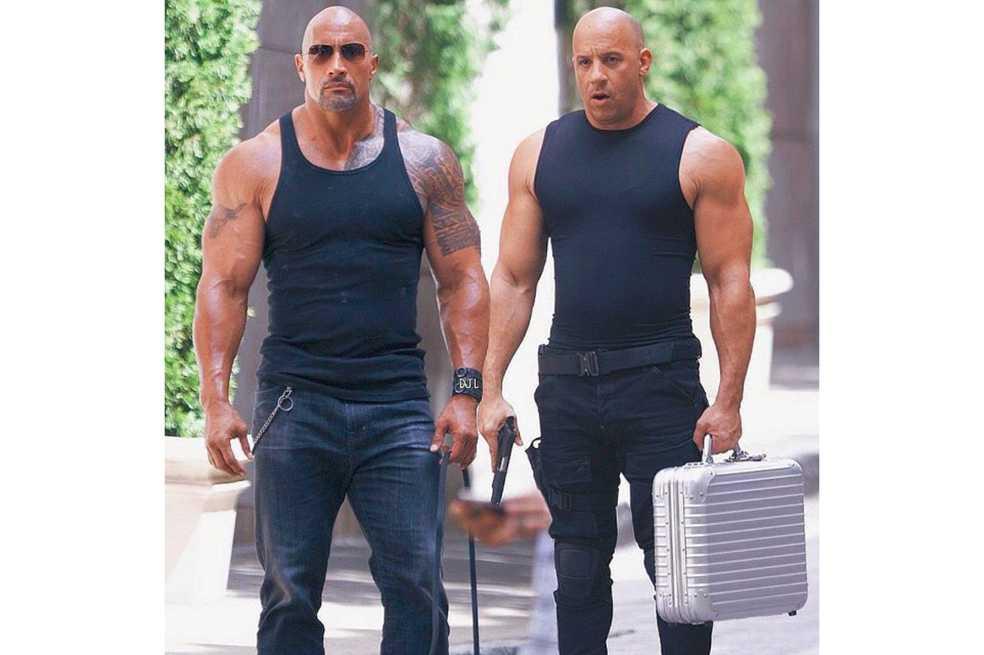 «La roca» enfrenta a Vin Diesel en «Rápidos y furiosos 8»