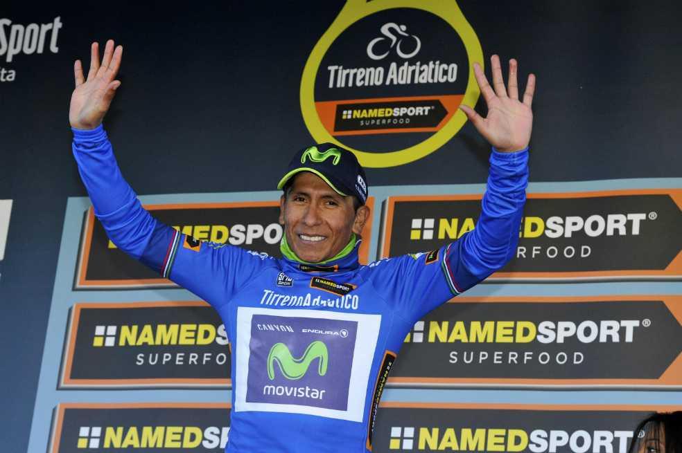 Nairo, nuevo líder de la Tirreno-Adriático