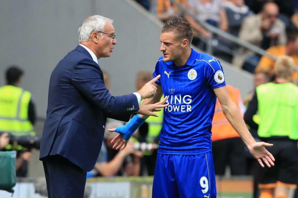 Jamie Vardy recibe amenazas de muerte tras la marcha de Ranieri