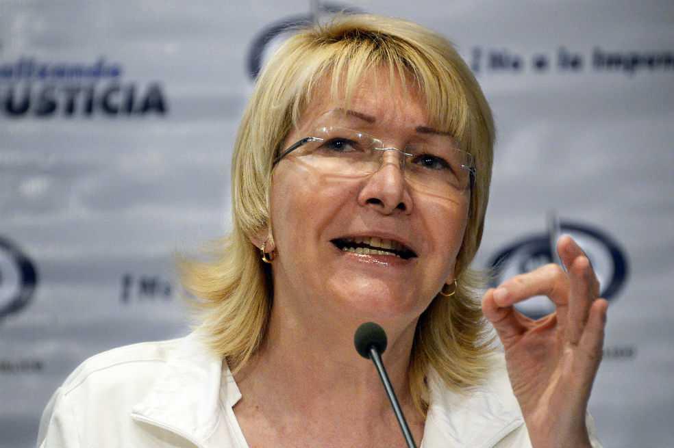 Fiscal General de Venezuela denuncia «ruptura del orden constitucional»