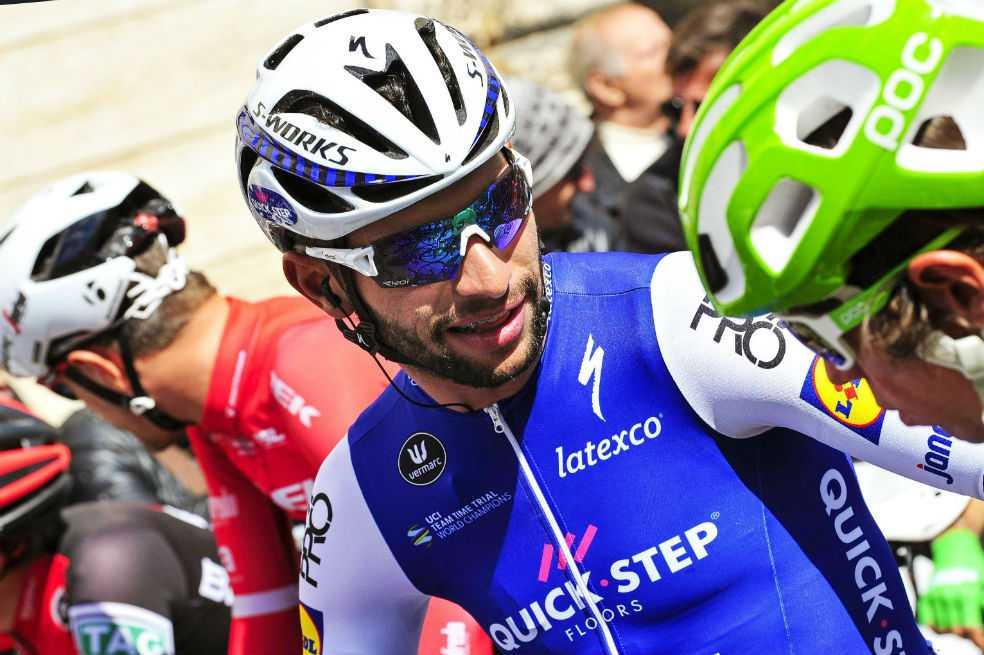 Fernando Gaviria, quinto en la Milán San Remo