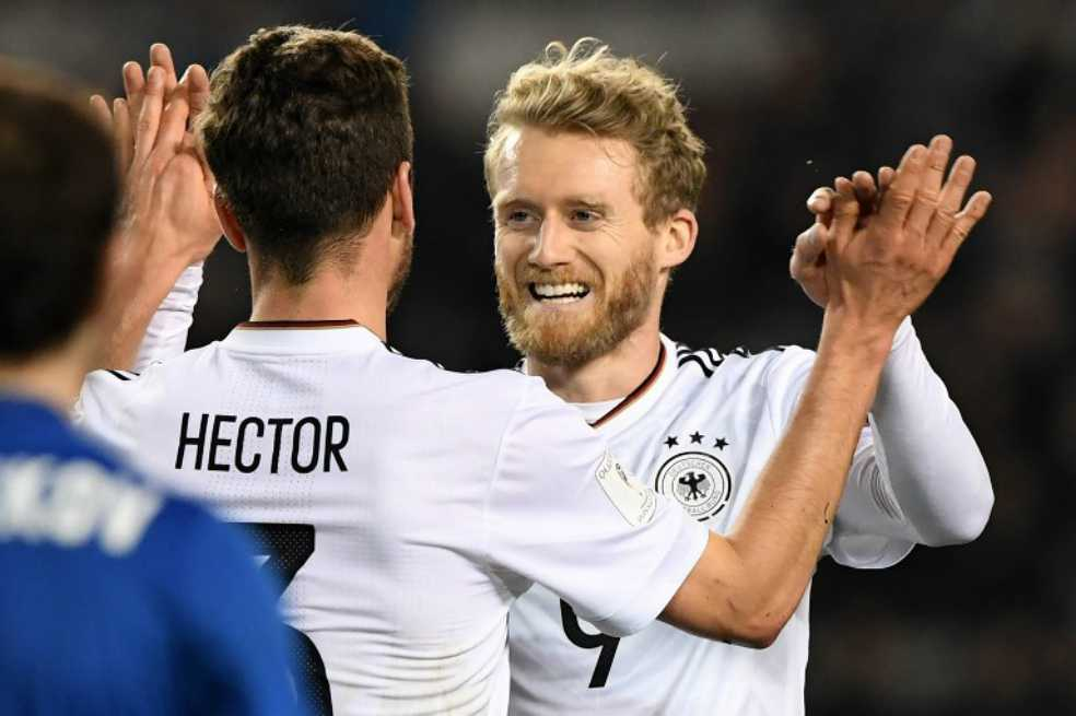 Alemania continúa firme en su camino a Rusia 2018: ganó 4-1 en las eliminatorias europeas