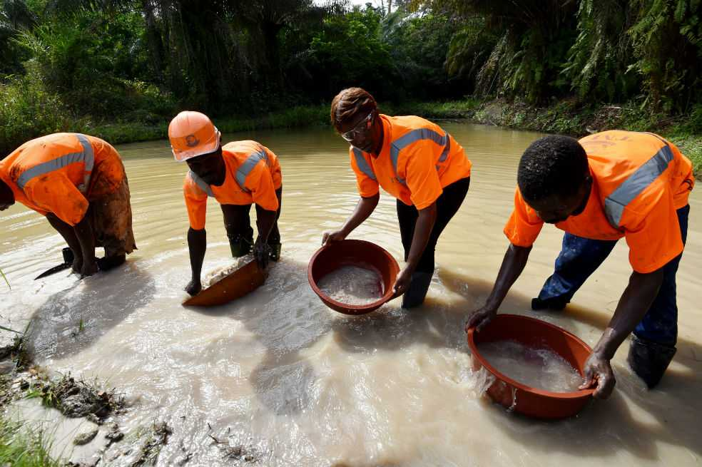 De modelo a propietaria de una mina de oro y diamantes en África