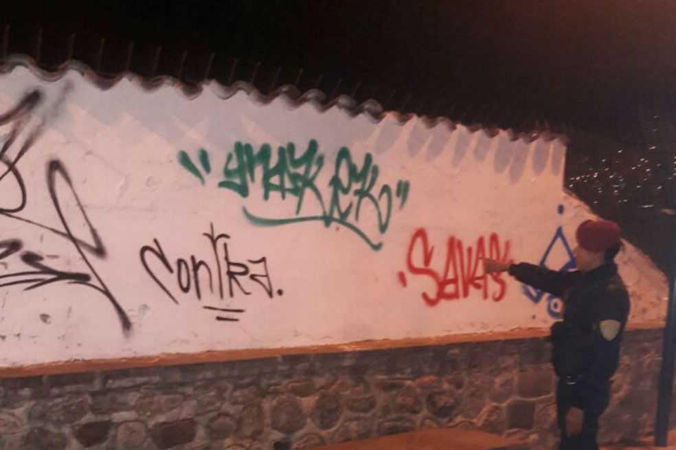 Perú expulsa a cuatro extranjeros por pintar grafitis en muro inca