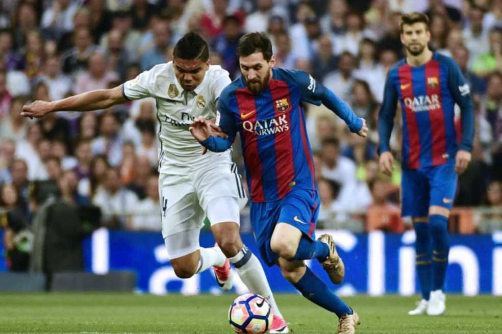 James anota en el clásico, que fue ganado por Barcelona en el último minuto