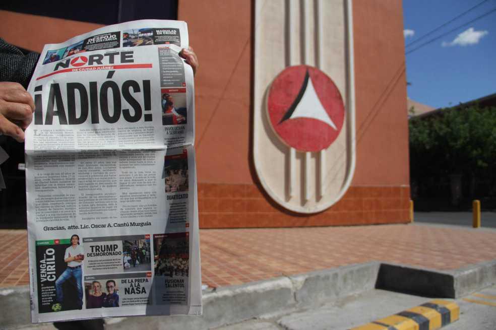 El periódico mexicano que cerró a causa de la violencia
