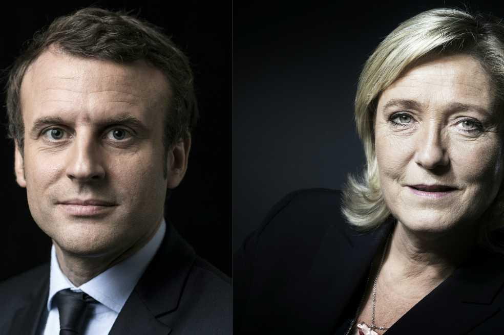 Macron y Le Pen, a segunda vuelta por la presidencia de Francia