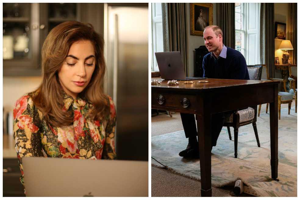 Lady Gaga y el Príncipe Guillermo se unen para promover la salud mental