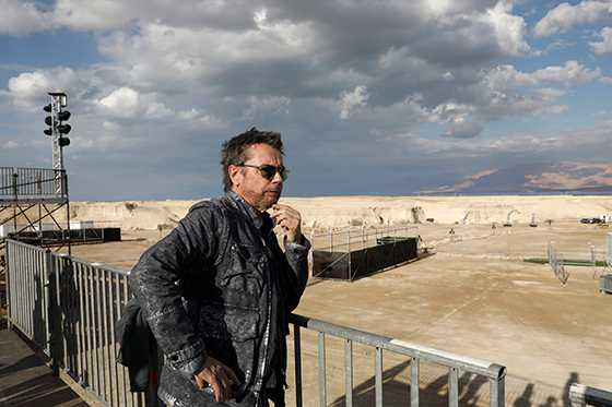 Un concierto de música electrónica para alertar sobre desaparición del mar Muerto