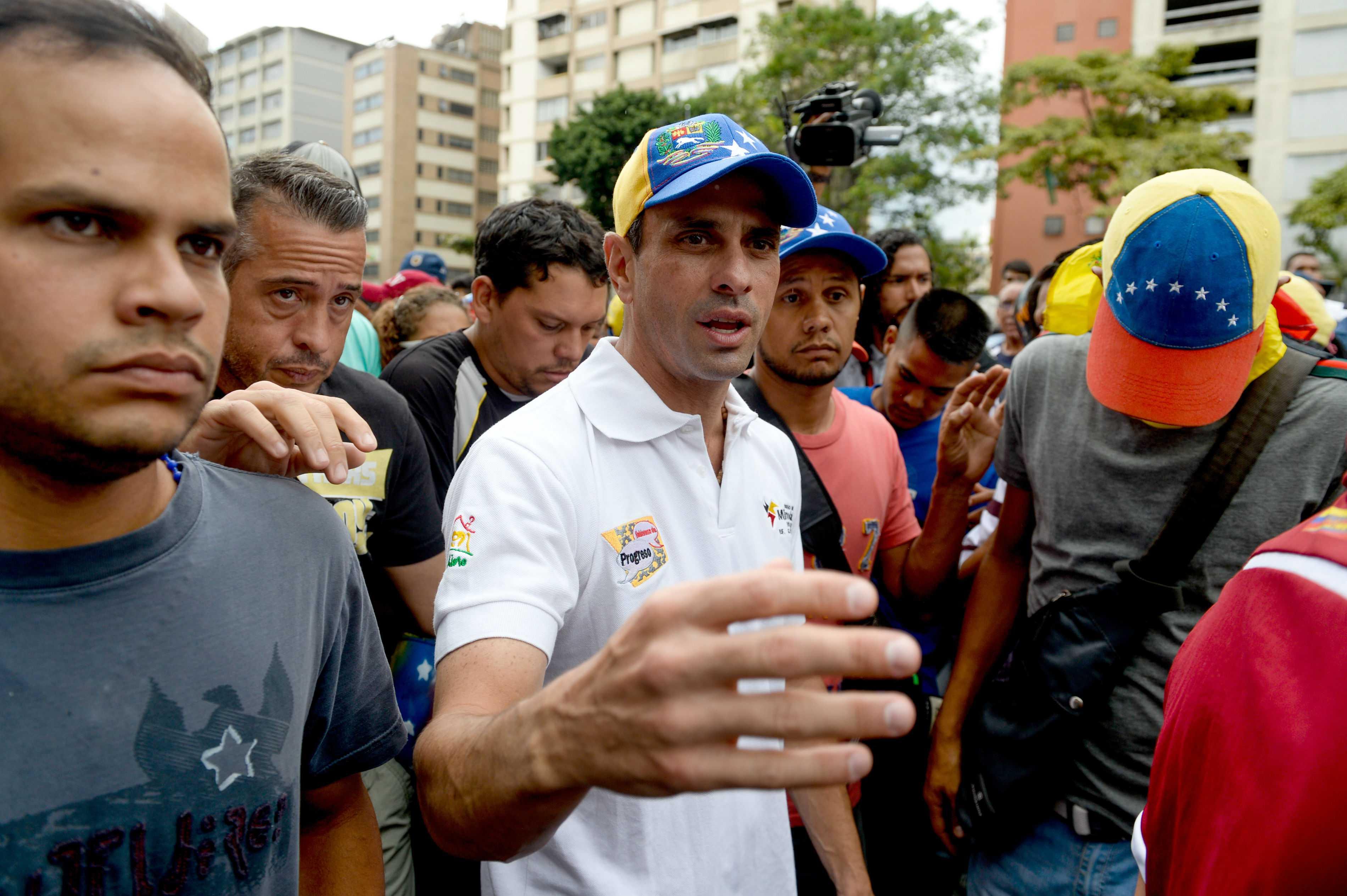 Capriles denuncia que gobierno venezolano le impidió viajar a la ONU