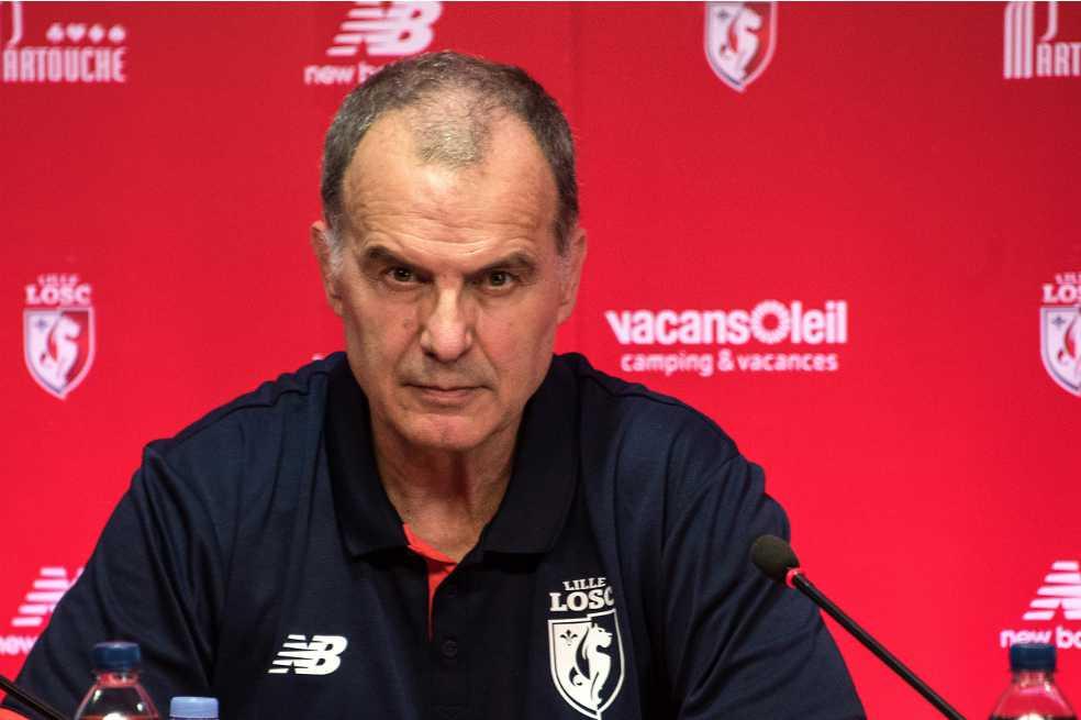 Lille presentó a Marcelo Bielsa como su nuevo entrenador