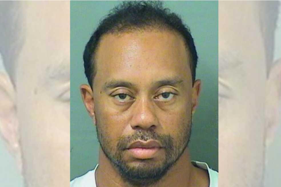 Tiger Woods fue arrestado por manejar bajo los efectos del alcohol