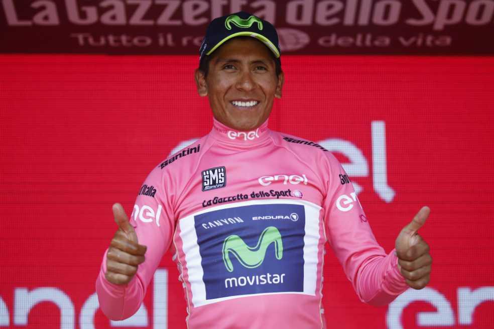 Nairo Quintana es el nuevo líder del Giro de Italia tras la etapa 19
