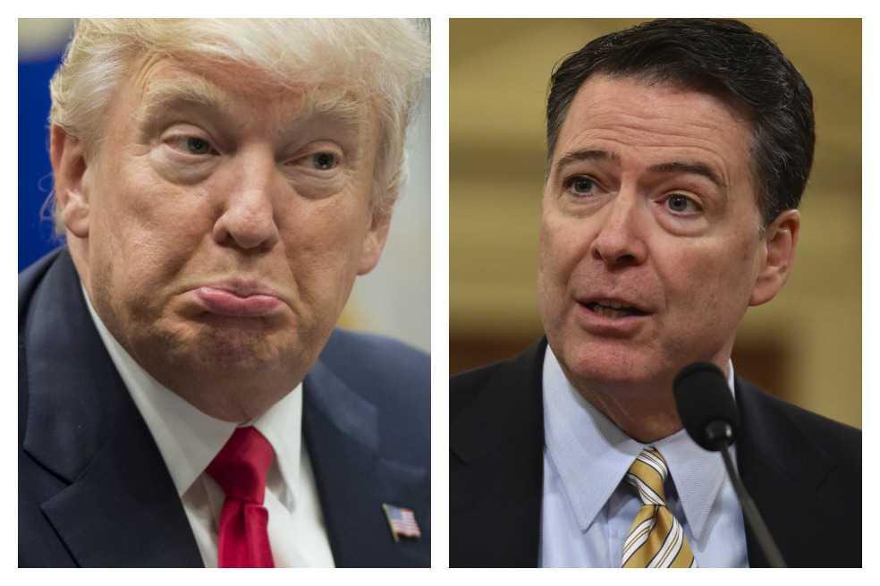 La historia de la destitución del jefe del FBI en 7 trinos de Donald Trump