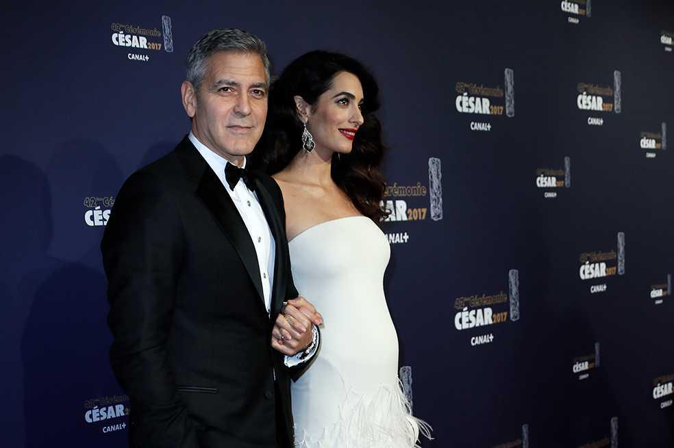 Nacieron los gemelos de Amal y George Clooney